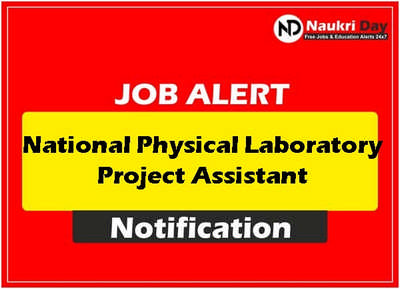 National Physical Laboratory download full pdf job recruitment notification 2021