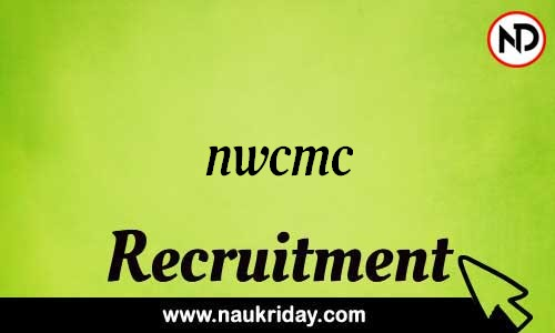 NWCMC recruitment notifications pdf download online