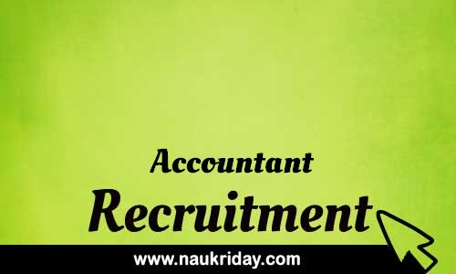 Accountant Related based sarkari naukri govt governmnet job notification pdf download online
