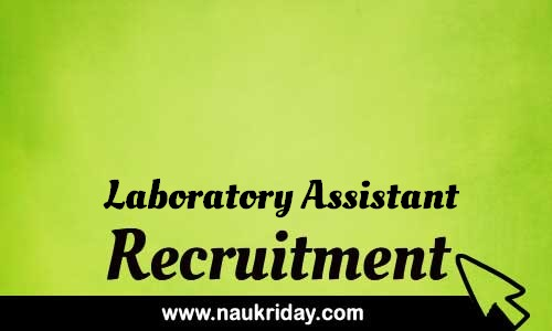 Laboratory Assistant Related govt Government job notification | sarkari Naukri download pdf online