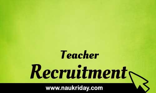 Teacher Related govt Government job notification | sarkari Naukri download pdf online