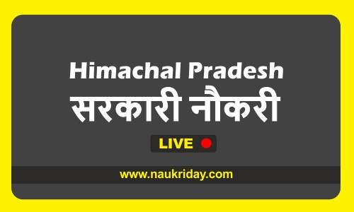 Himachal Pradesh bharti pdf online download notification